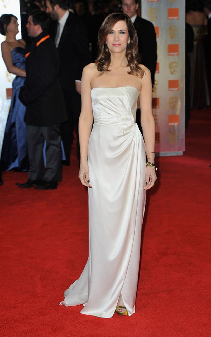 Kristen Wiig at BAFTA Awards 2012 in London Photo 800x1280