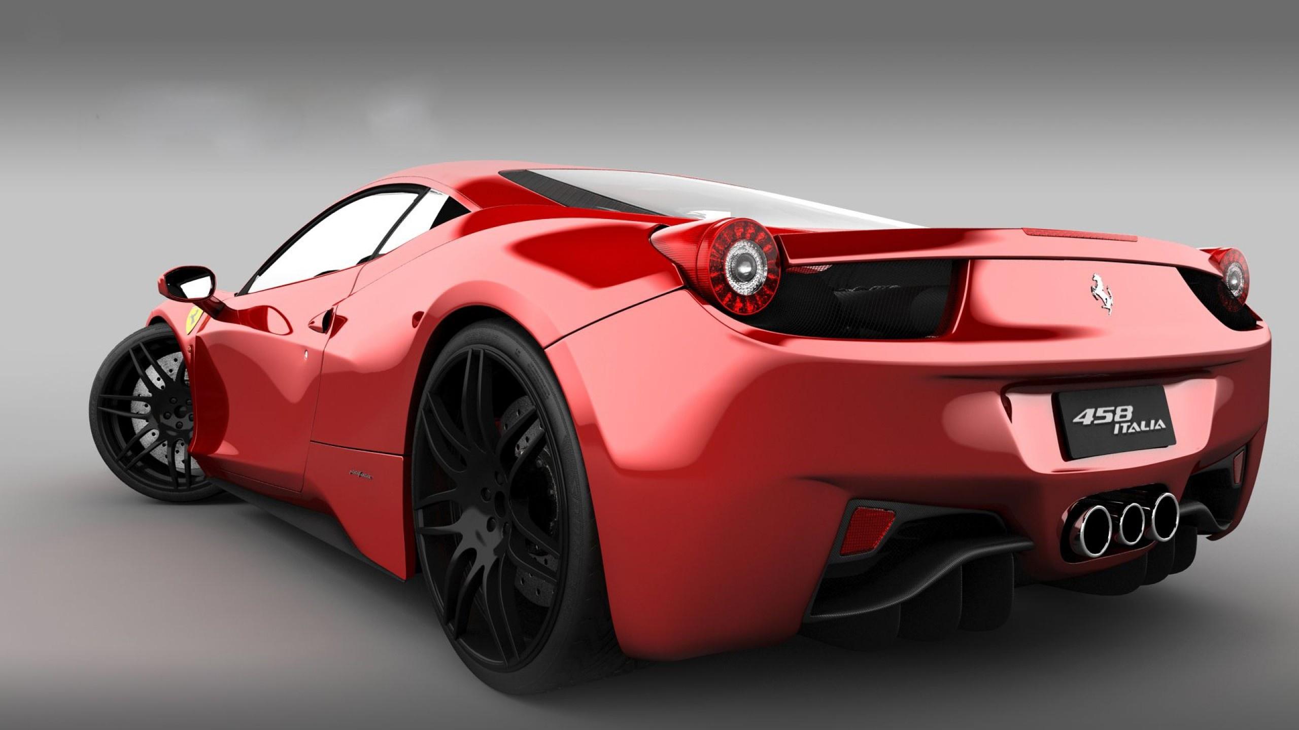 Free Download Ferrari 458 Italia Rear Side Hd Wallpapers 2560x1440 For Your Desktop Mobile Tablet Explore 48 Ferrari 458 Italia Wallpaper Hd Italia Wallpaper