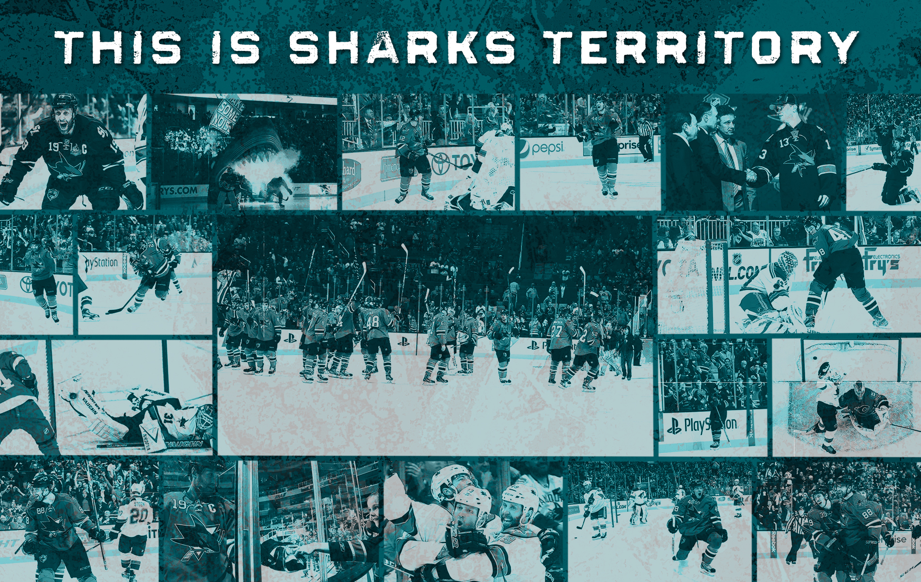 San Jose Sharks Wallpaper WallpaperSafari
