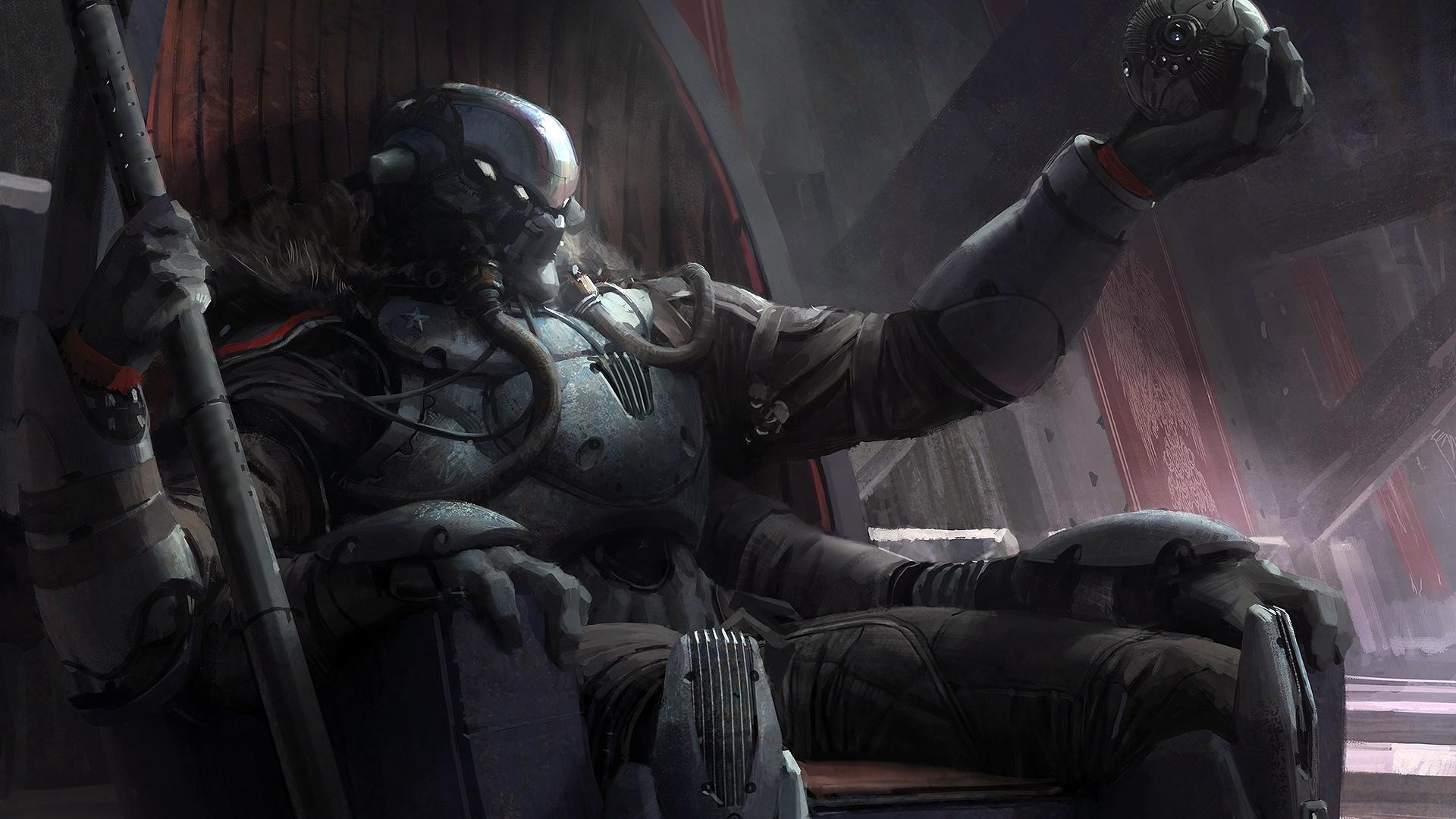 Fallen Captain Destiny game sci fi HD 1920x1080 1080p and compatible 1920x1080