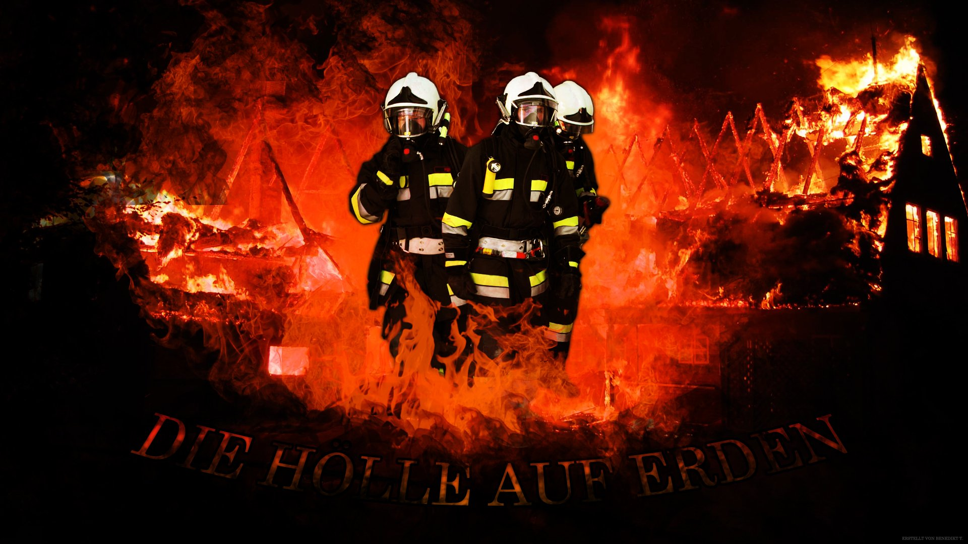 Firefighter Germany   Wallpaper Feuerwehr by DeNite93 1920x1080