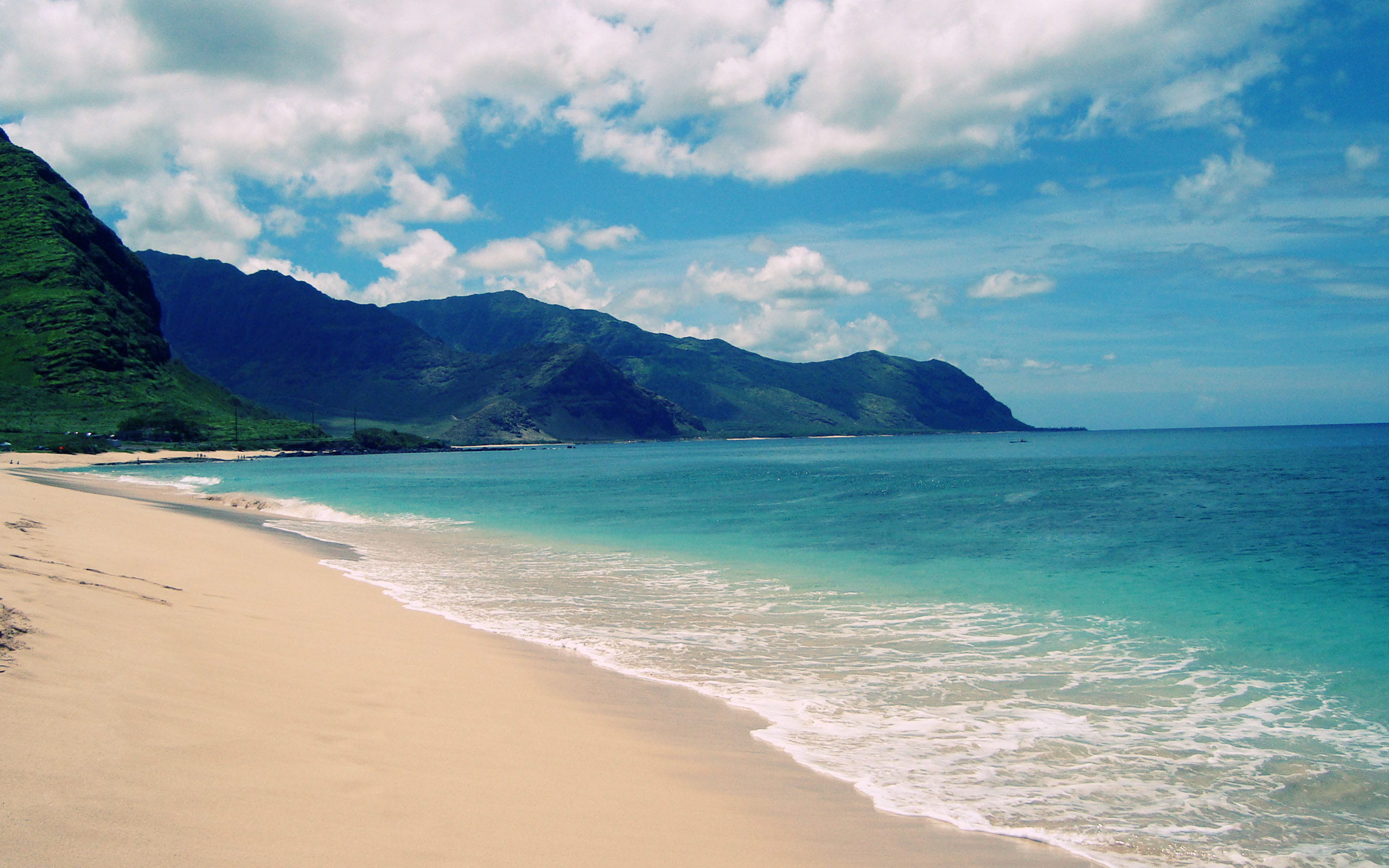 Wallpaper Hawaii Beach Cool Hawaii Beach Backgrounds 48 2560x1600