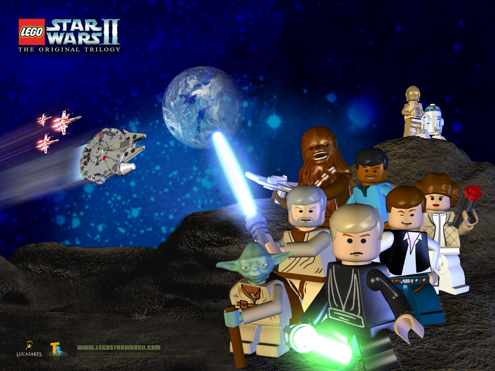 31 Lego Star Wars Iii The Clone Wars Wallpapers On