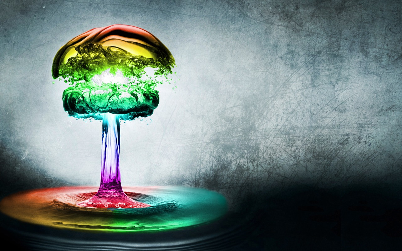 Abstract Rainbow Wallpaper Desktop 1280x800