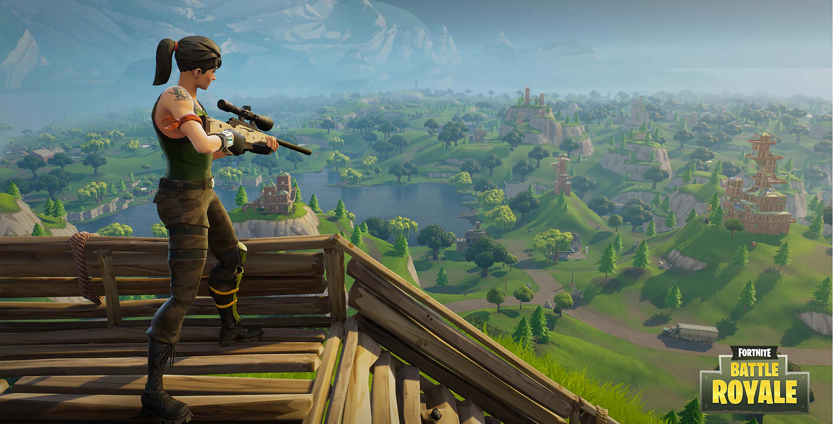 Fortnite becomes the first game to support PS4 and Xbox 3328x1697