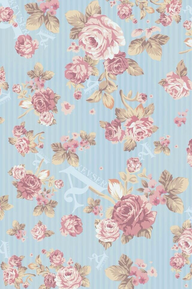 Cute floral wallpaperscreensaver Girly wallpapers Pinterest 640x960