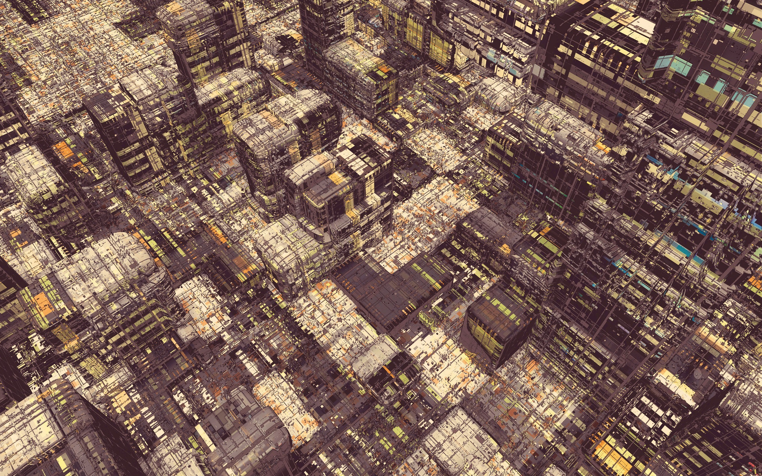 architecture Digital Art Cityscape Artwork Atelier Olschinsky 2560x1600