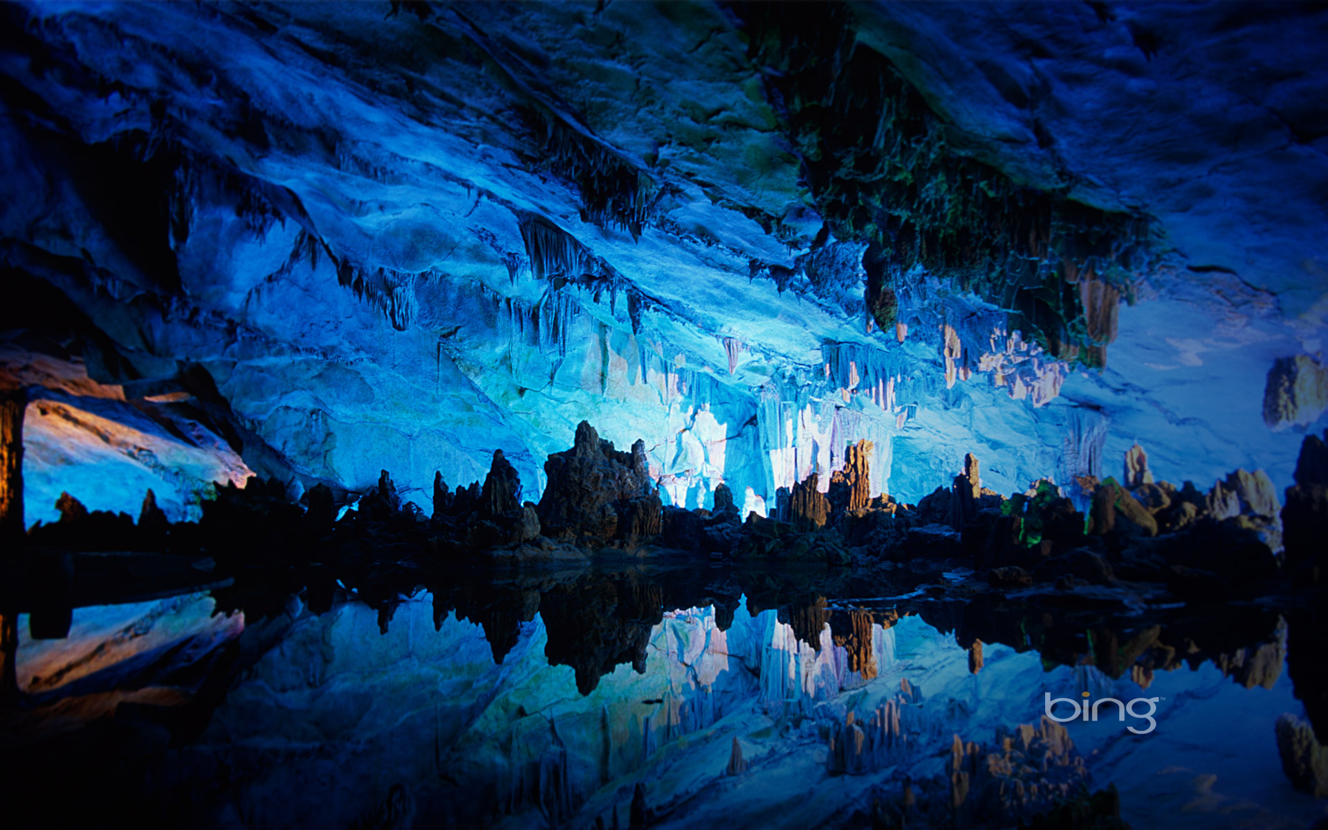 Seven Star Cave China Wallpapers HD Wallpapers 1920x1200