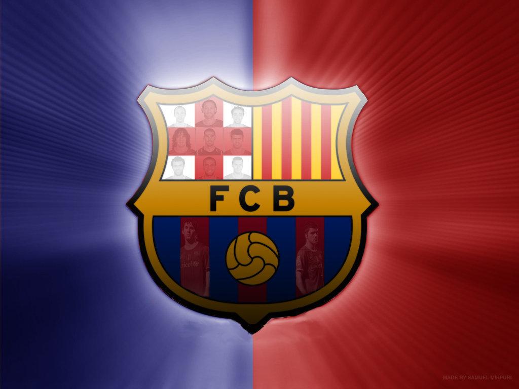 FC Barcelona Logo Wallpaper   FC Barcelona Wallpaper 22614257 1024x768