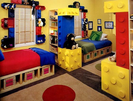 shelves in boys room design dazzle diy kids room shelving 561x425