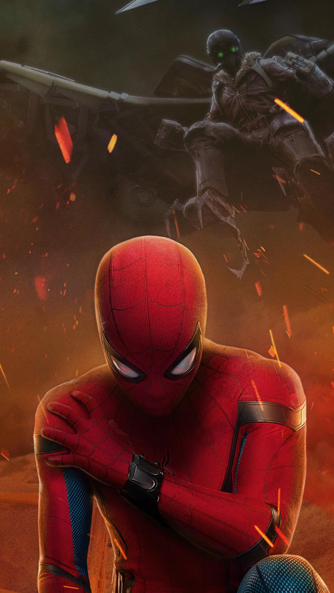 MovieSpider Man Homecoming 1080x1920 Wallpaper ID 694660 1080x1920