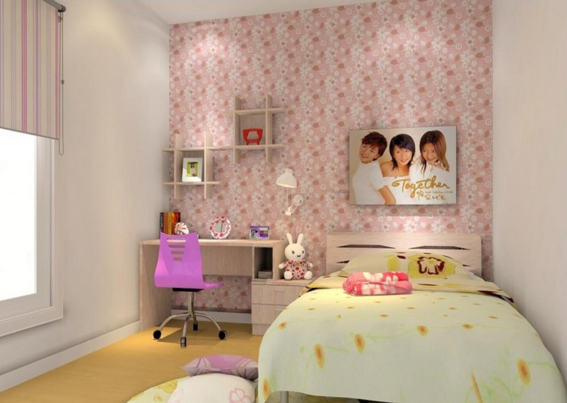 3d interior room designing for girls girls room house 3d 1107x786