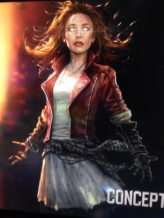 First Looks At Scarlet Witch Quicksilver And Hulkbuster In AVENGERS 529x701