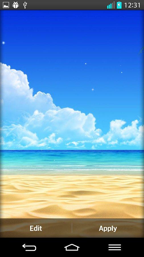49+ Live Beach Wallpaper on WallpaperSafari