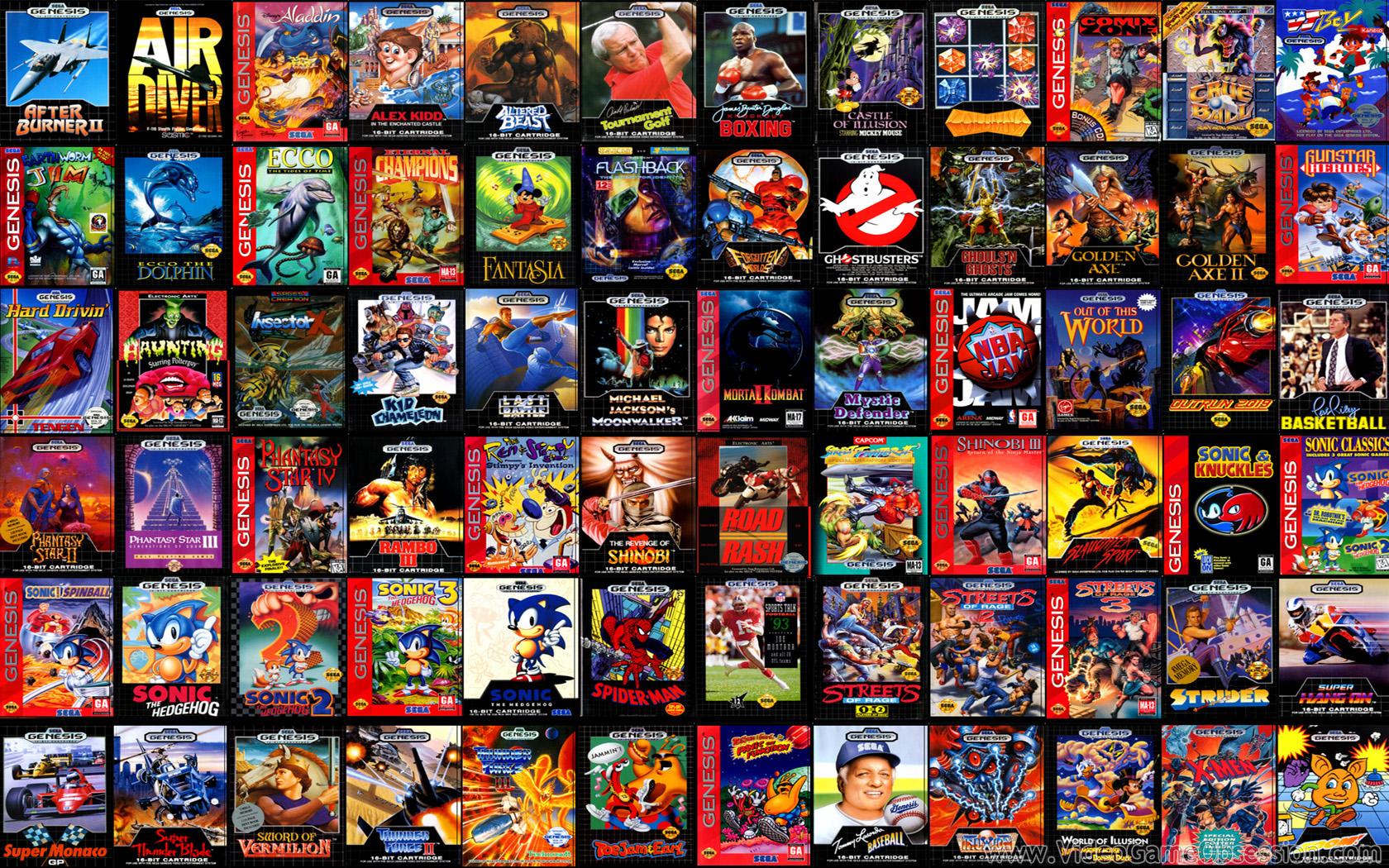 Nostalgic Gamer Sega Genesis Turns 25G33king Out Embrace the geek 1680x1050
