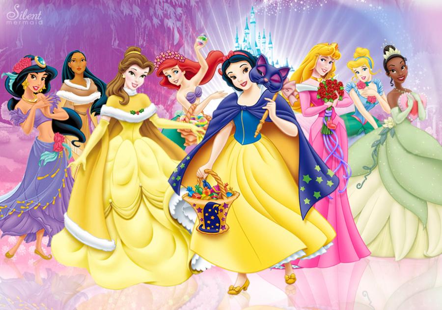 Disney Princesses   Holidays by SilentMermaid21 900x630