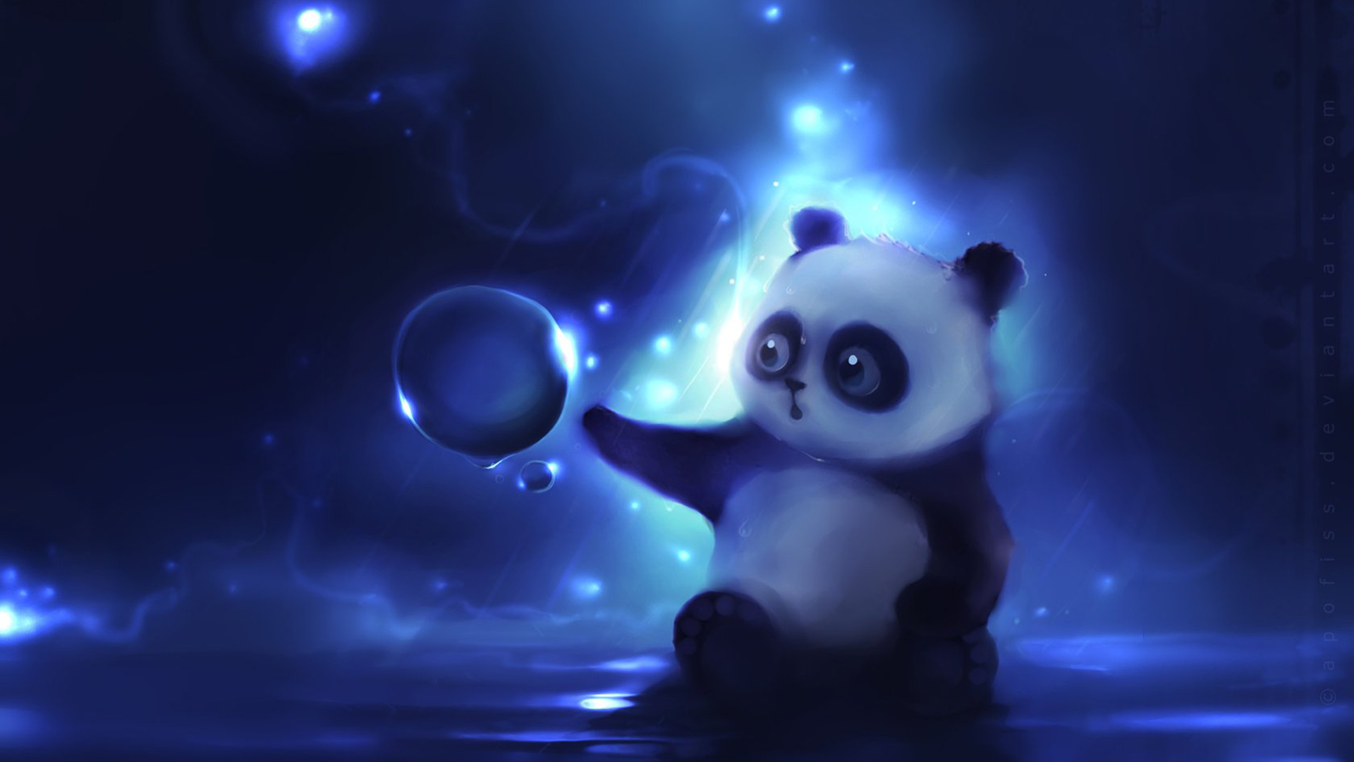 Panda Bears Wallpaper 1920x1080 Panda Bears Apofiss 1920x1080