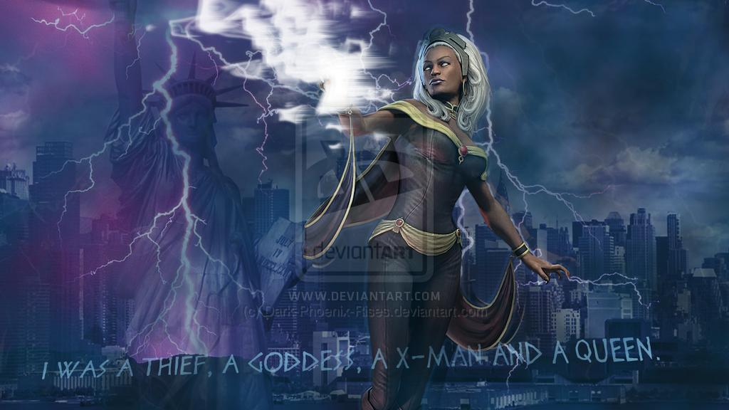 Storm X Men Wallpapers 1024x576