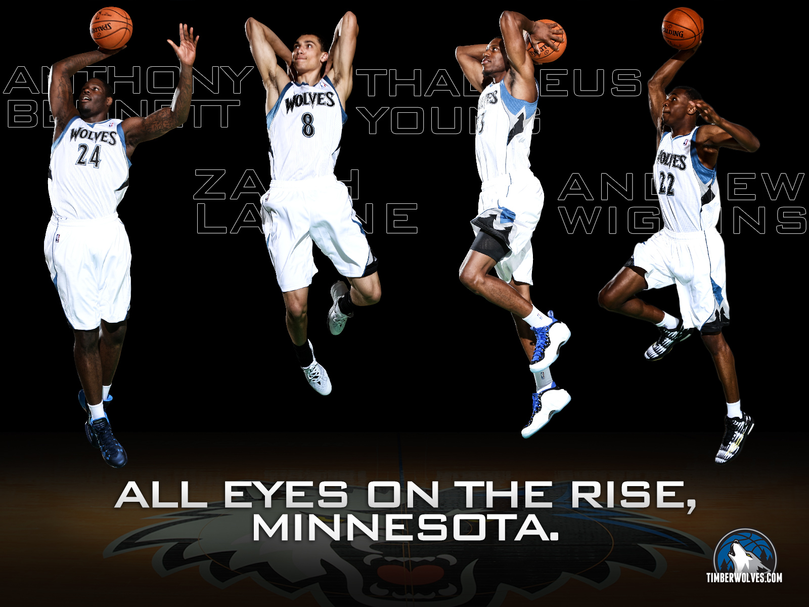 Timberwolves Wallpaper Minnesota Timberwolves 1600x1200