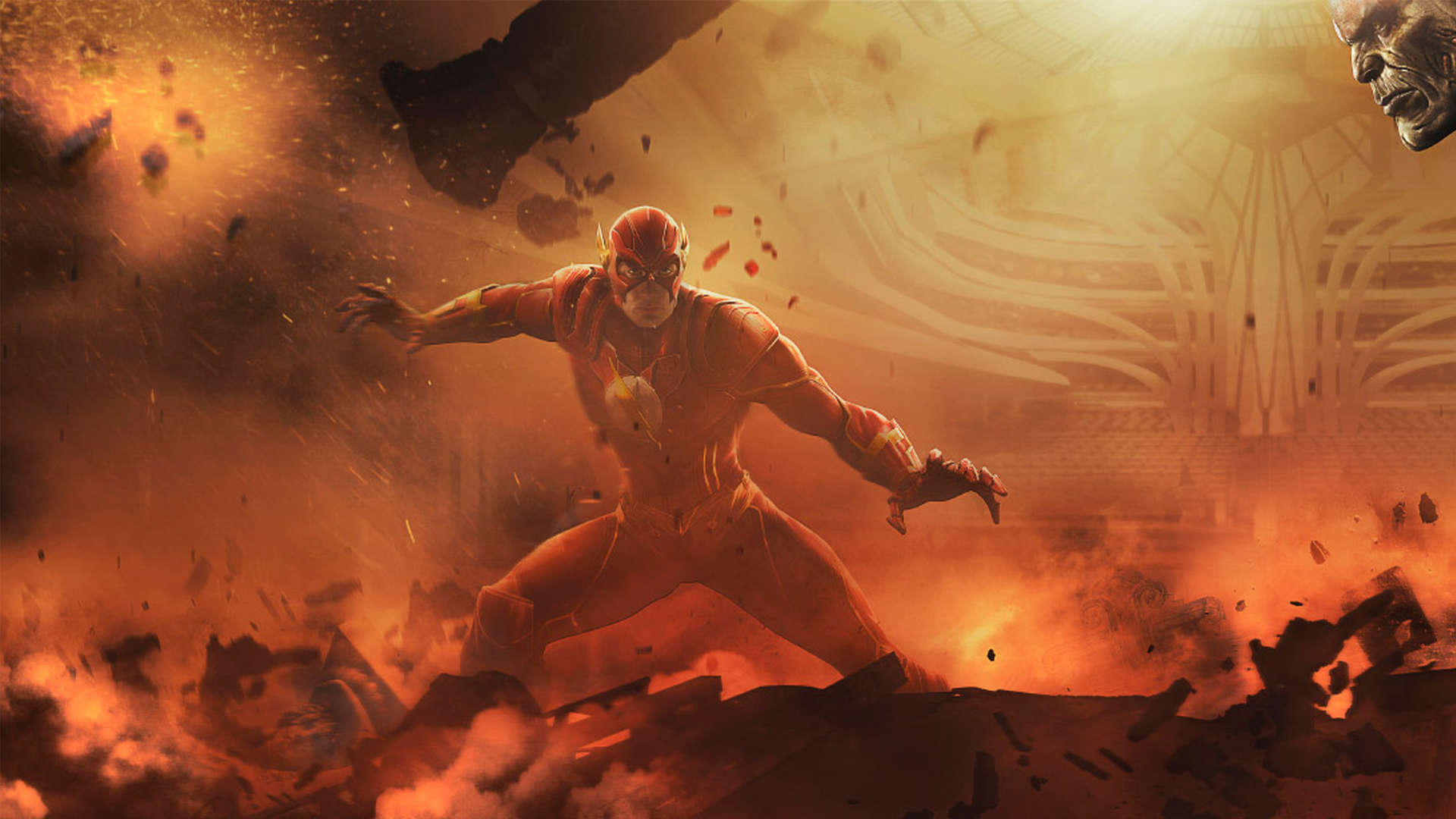Wallpaper The Flash 1080p Background Upload at May 16 2015 by Adam 1920x1080