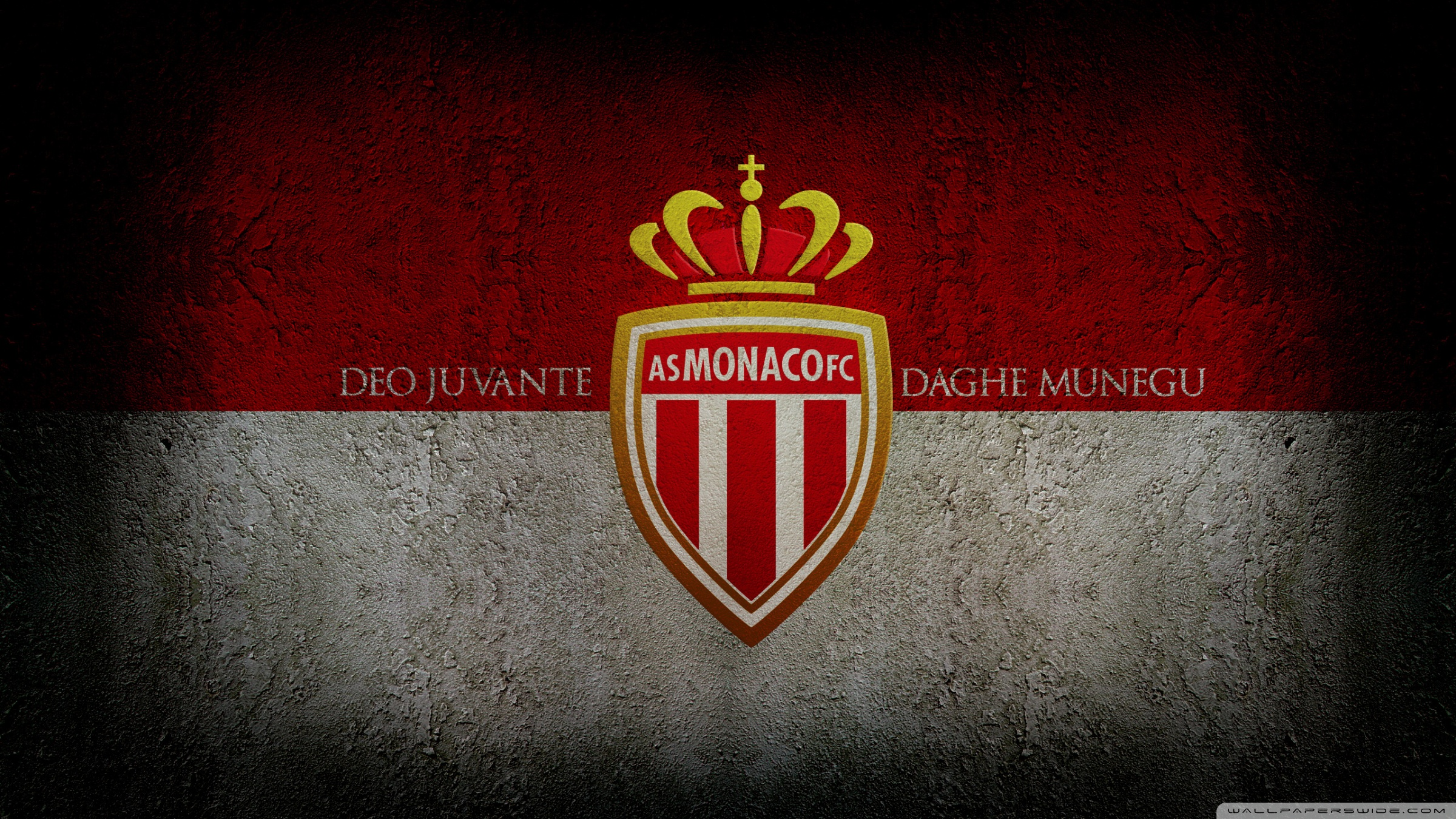AS Monaco FC 4K HD Desktop Wallpaper for 4K Ultra HD TV Dual 2400x1350