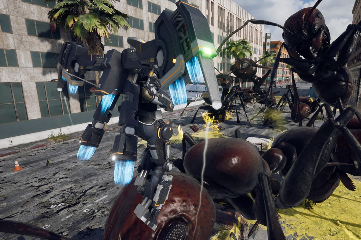 Iron Rain is a new style of Earth Defense Force   Polygon 1200x800