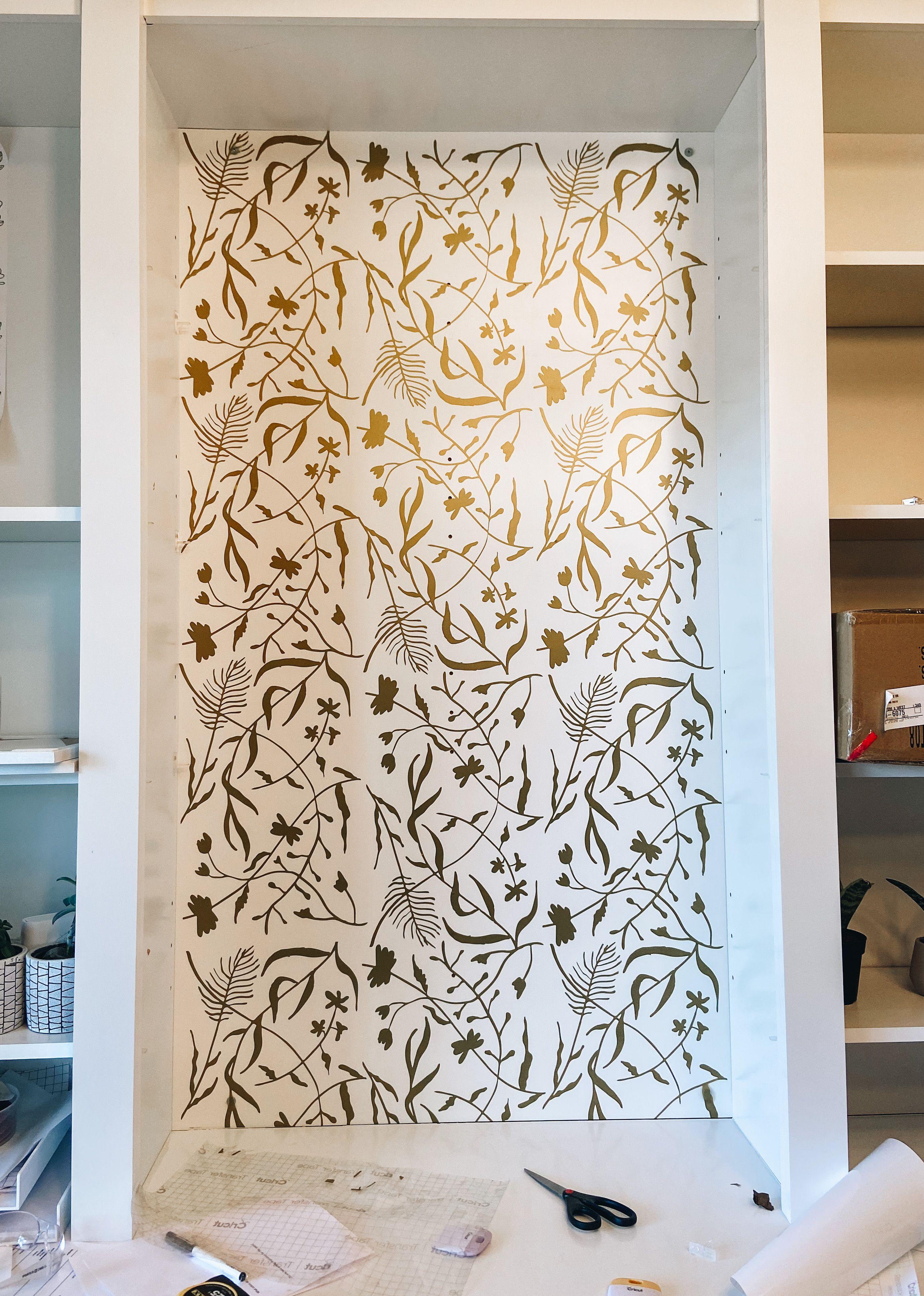 DIY Cricut Wallpaper Wall vinyl decor Diy cricut Make your own 2755x3863