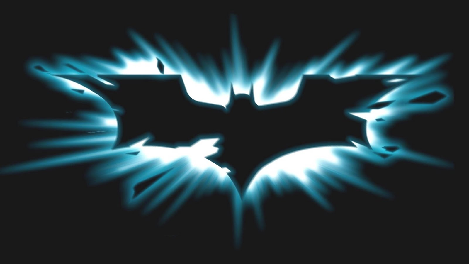 batman logo wallpaper 1600x900