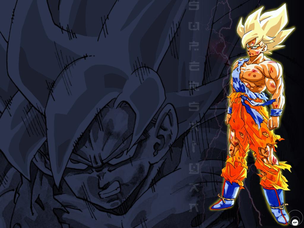 Goku wallpaper DBZ Wallpaper Goku hd wallpaper background desktop 1024x768