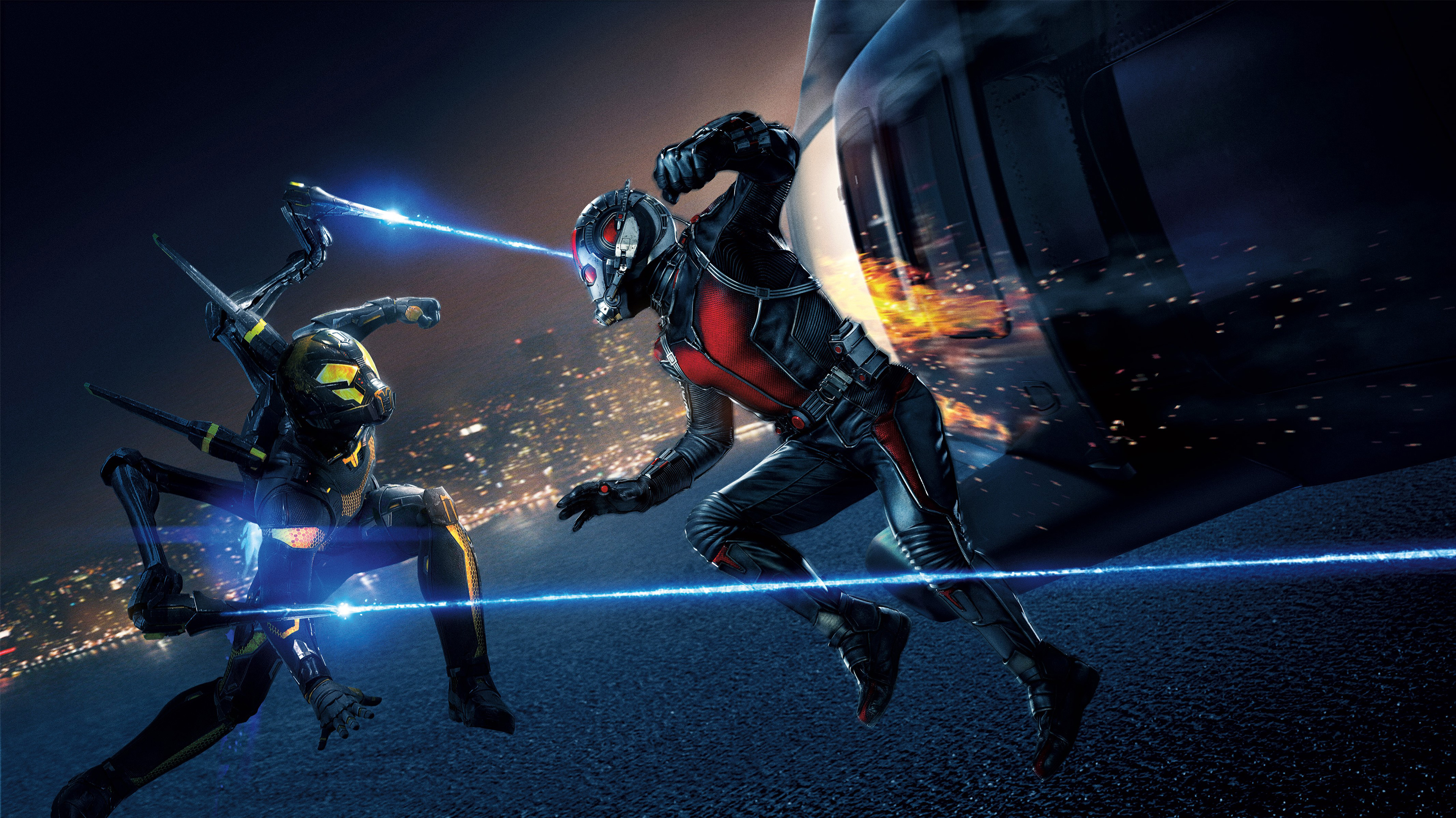 Yellowjacket Ant Man Wallpapers HD Wallpapers 3840x2160