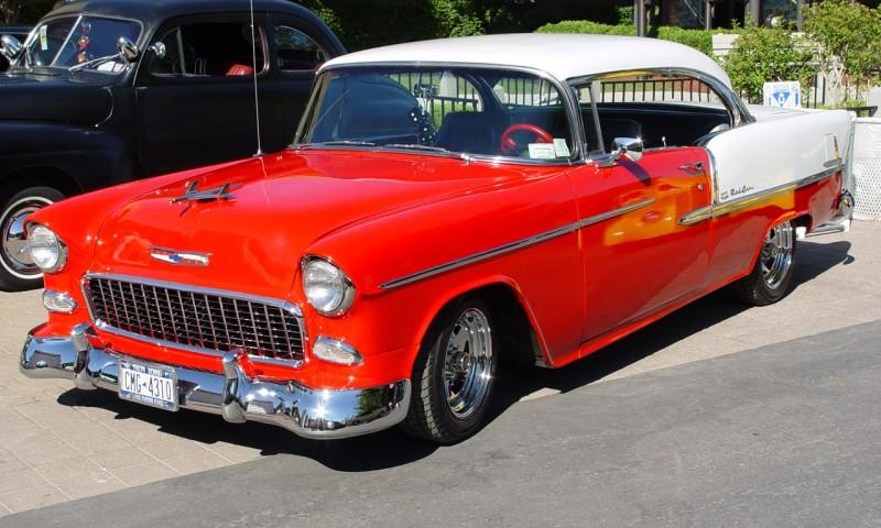1955 Chevrolet Bel Air 800x480   Wallpaper   Wallpapers 800x480