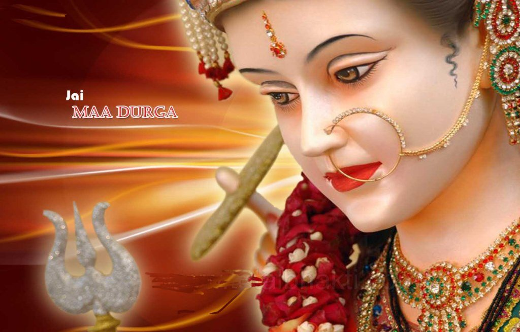 Wallpapers Goddess Maa Durga Jay Maa Durga Wallpaper 1024x655