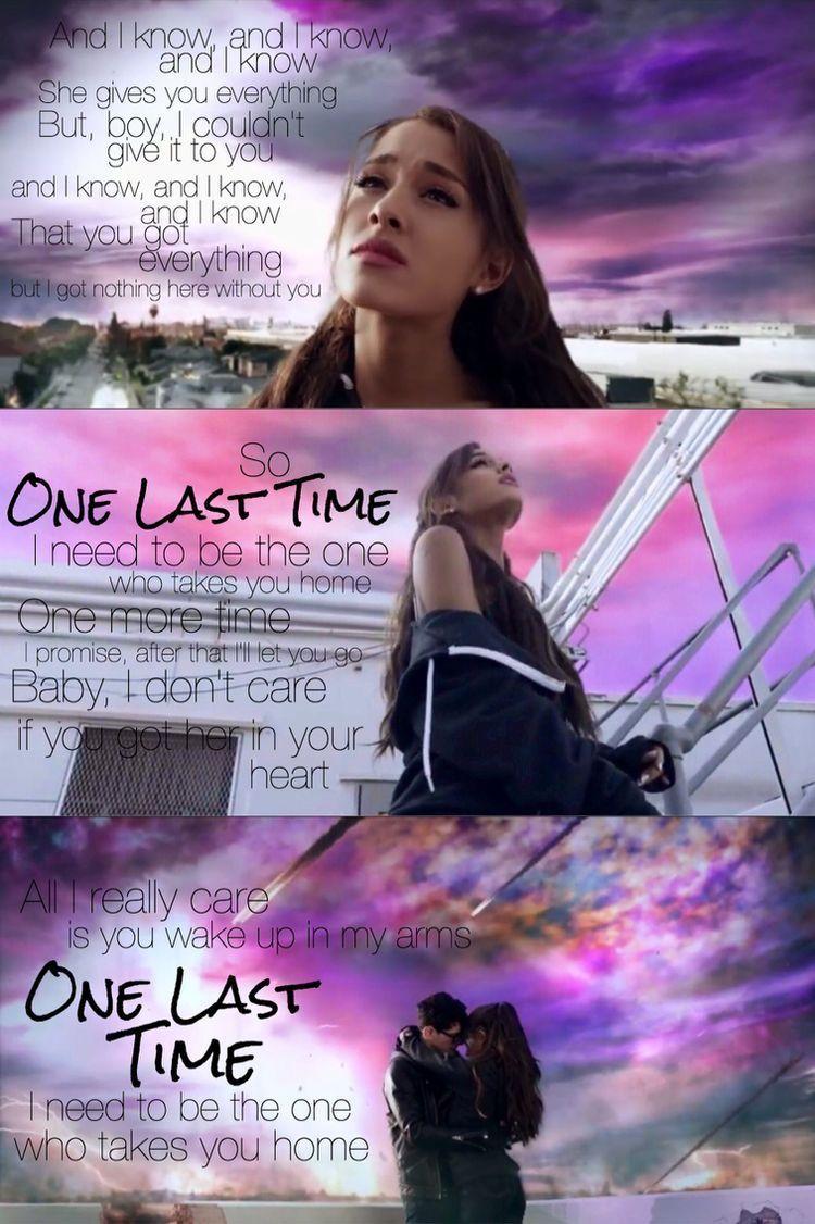 Ariana Grande One Last Time Music Ariana Grande Ariana grande 750x1126