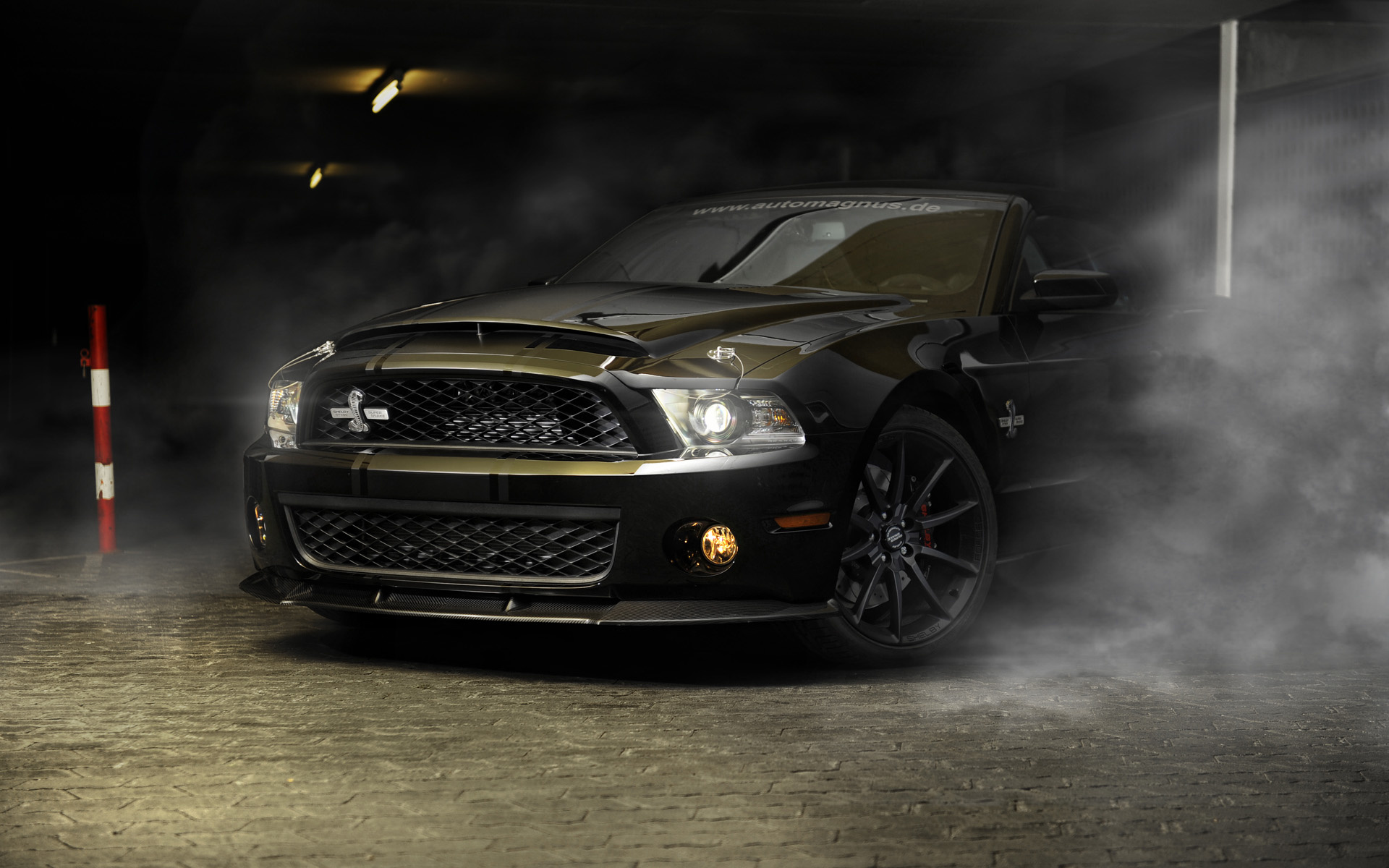 ford Mustang Gt500 Super Snake Vehicles Cars Auto Smoke 1920x1200