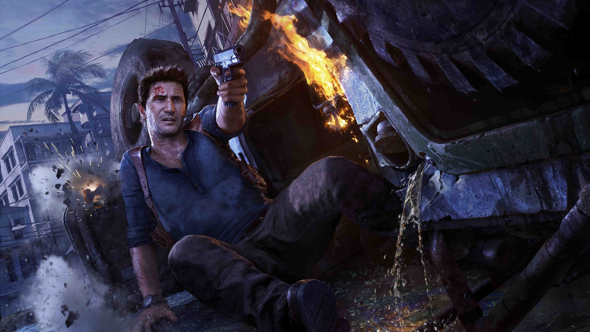Nathan Drake Uncharted 4 A Thiefs End Video Games 1920x1080