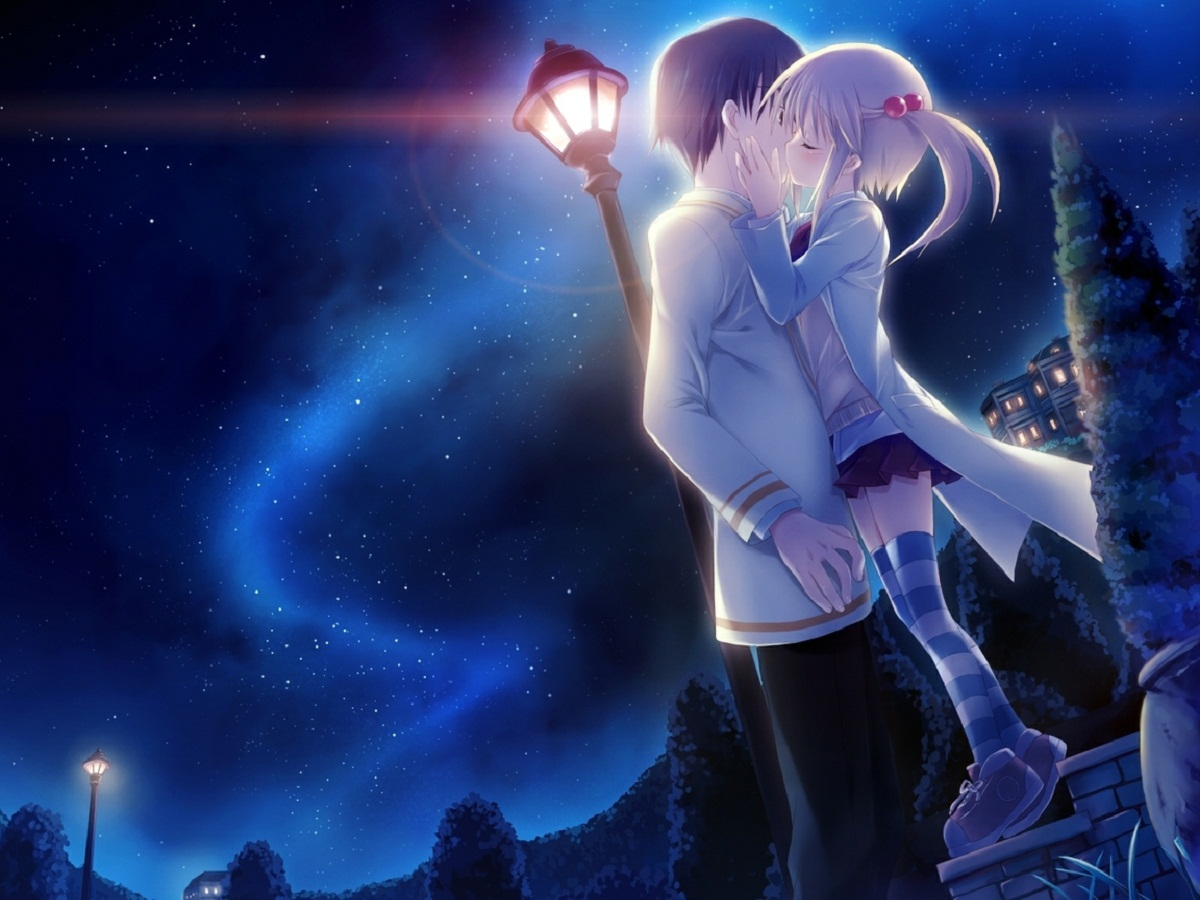 Free download good night love kiss romantic wallpapers HD Wallpapers