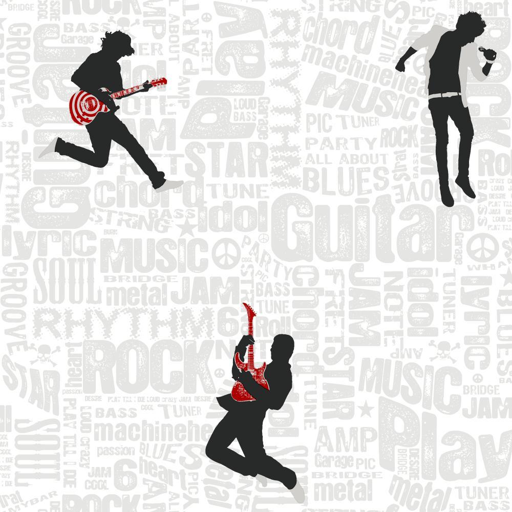 rock and roll   Wallpaper Border Wallpaper inccom 1000x1000