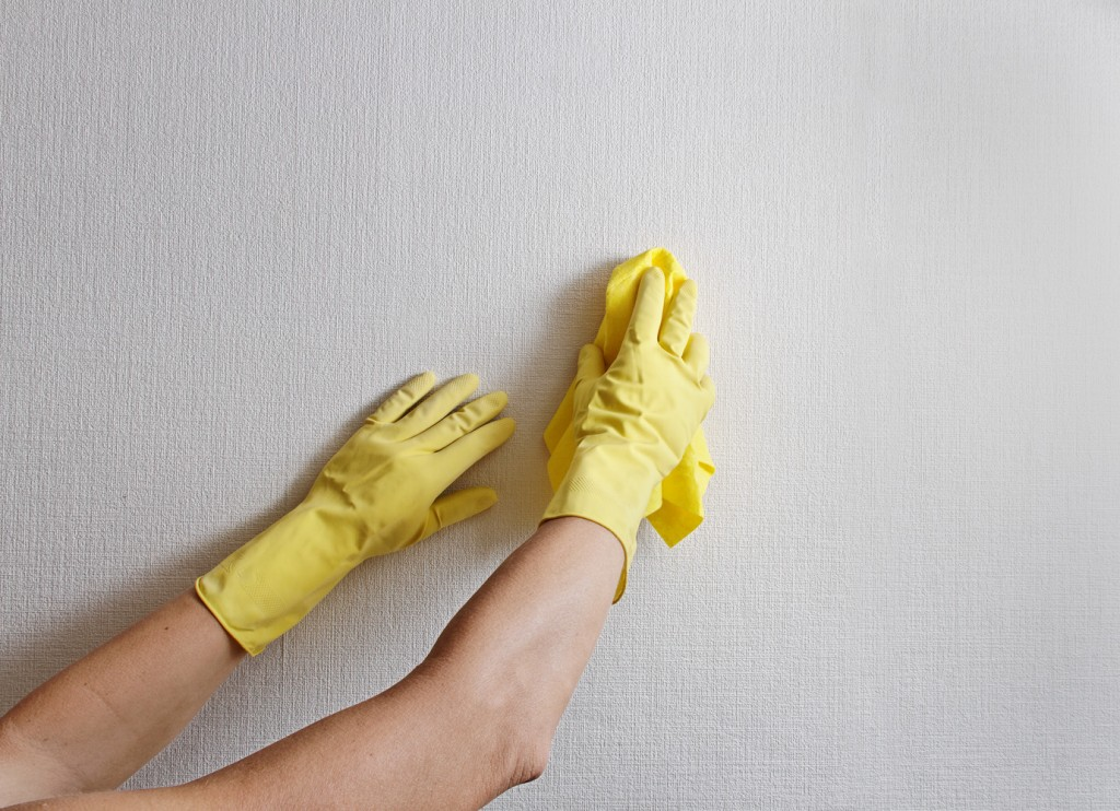 How to Clean Walls Painted Tiled Wallpaper Help Me Clean 1024x742