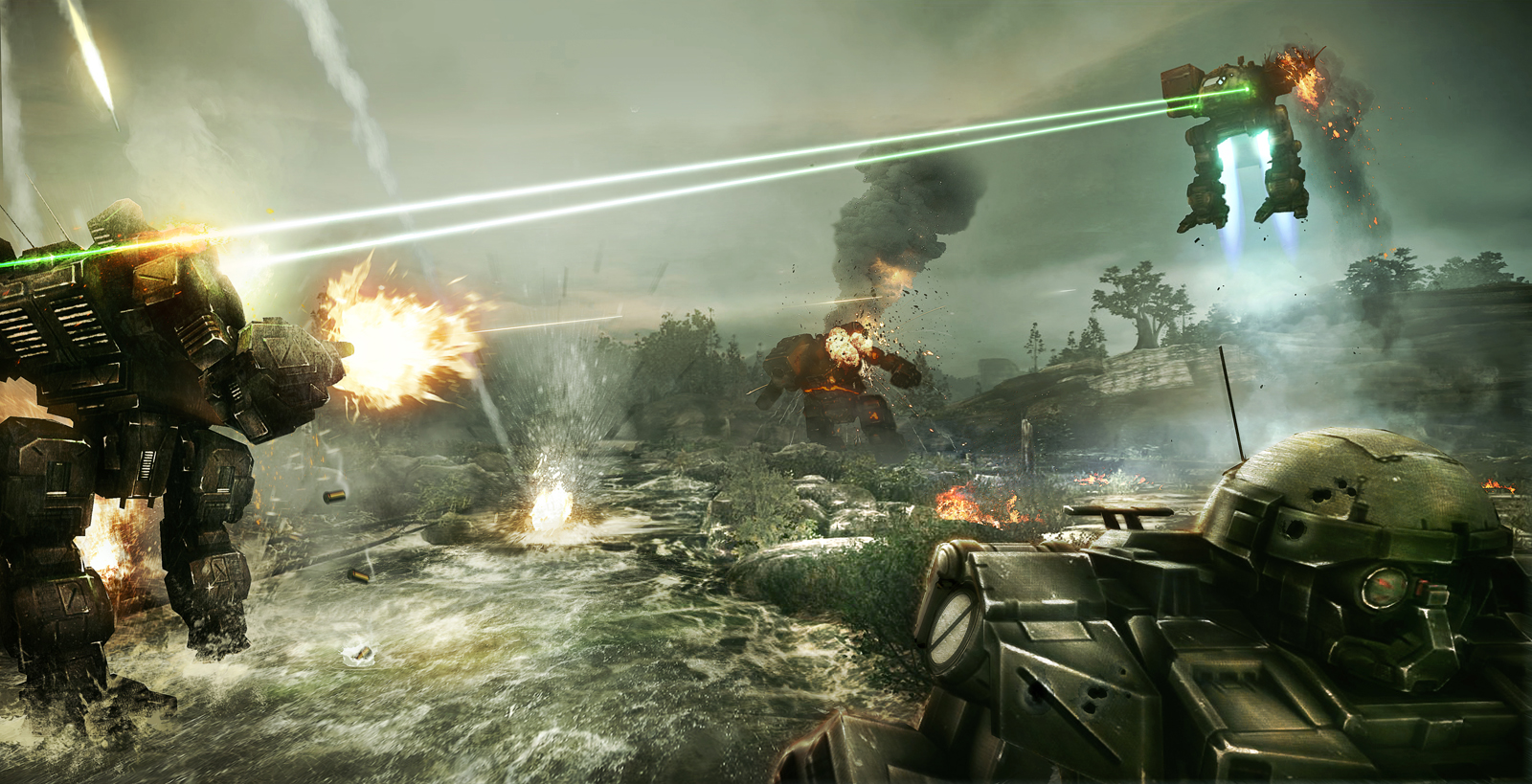MechWarrior Online GeForce 1600x819