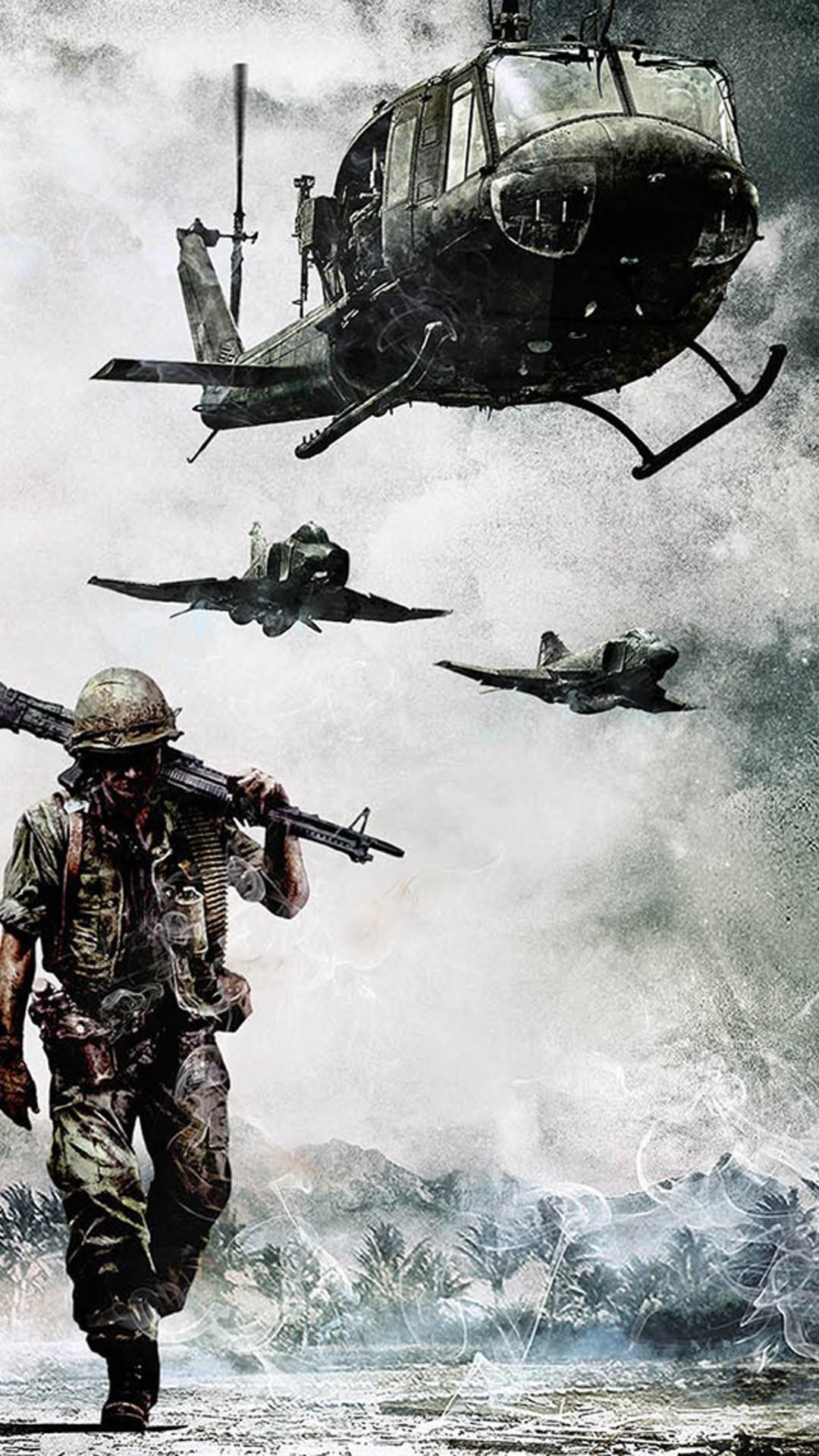 56 Vietnam War Wallpapers on WallpaperPlay 1080x1920