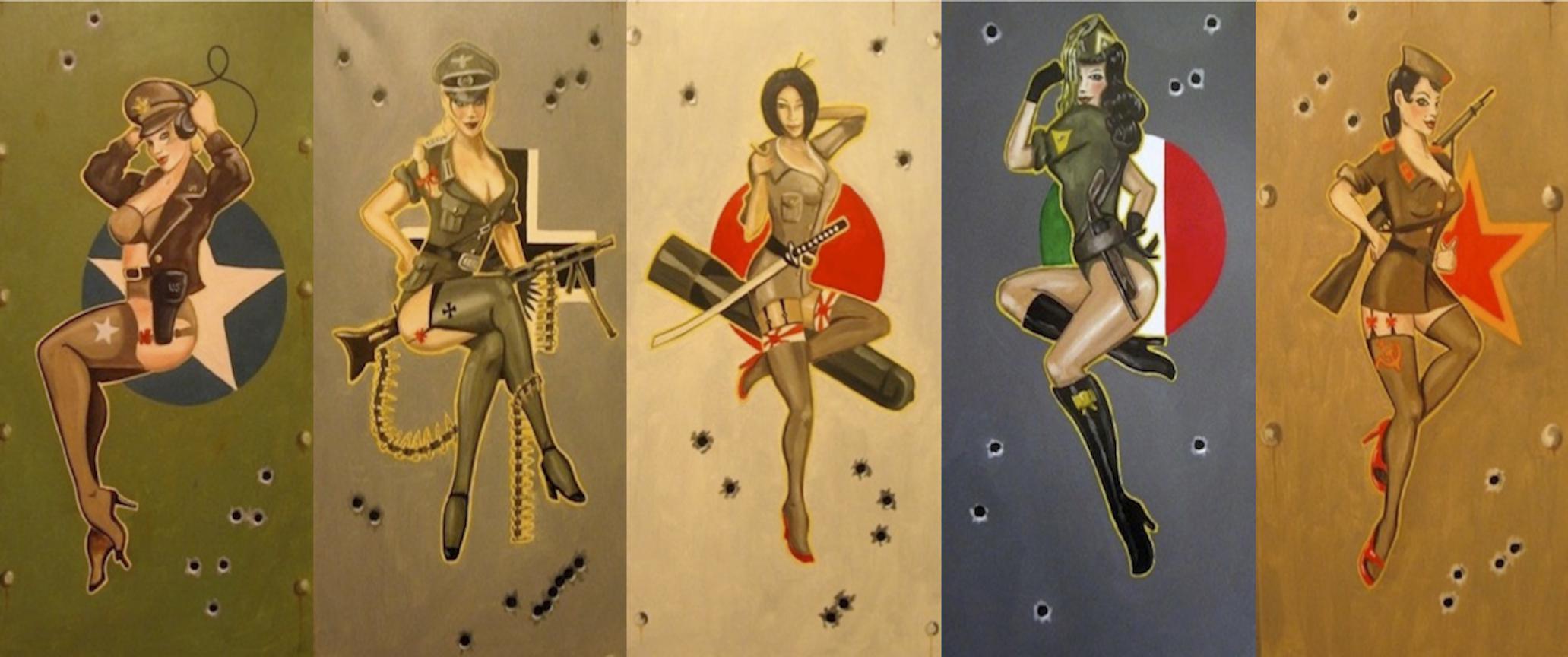 Classic Pin Up Wallpaper - WallpaperSafari