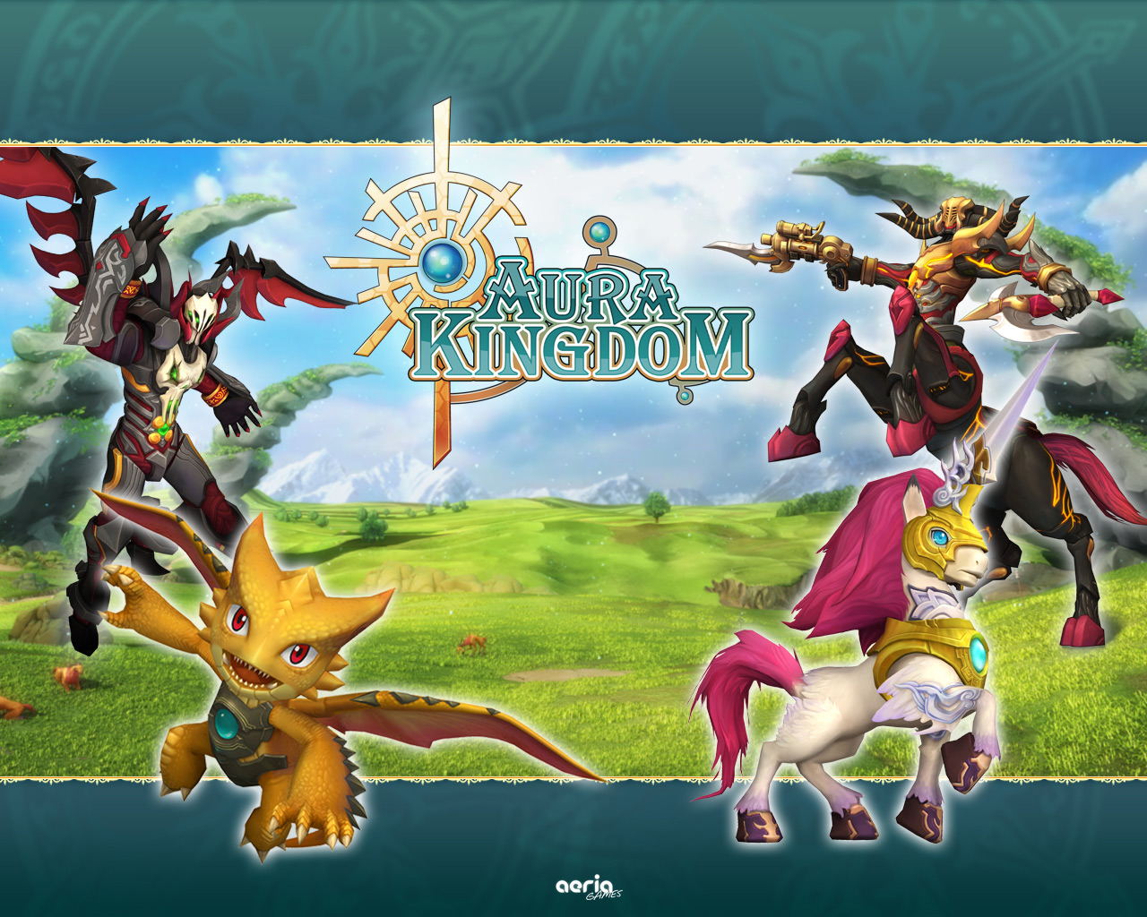 Aura Kingdom   Wallpaper 1280x1024