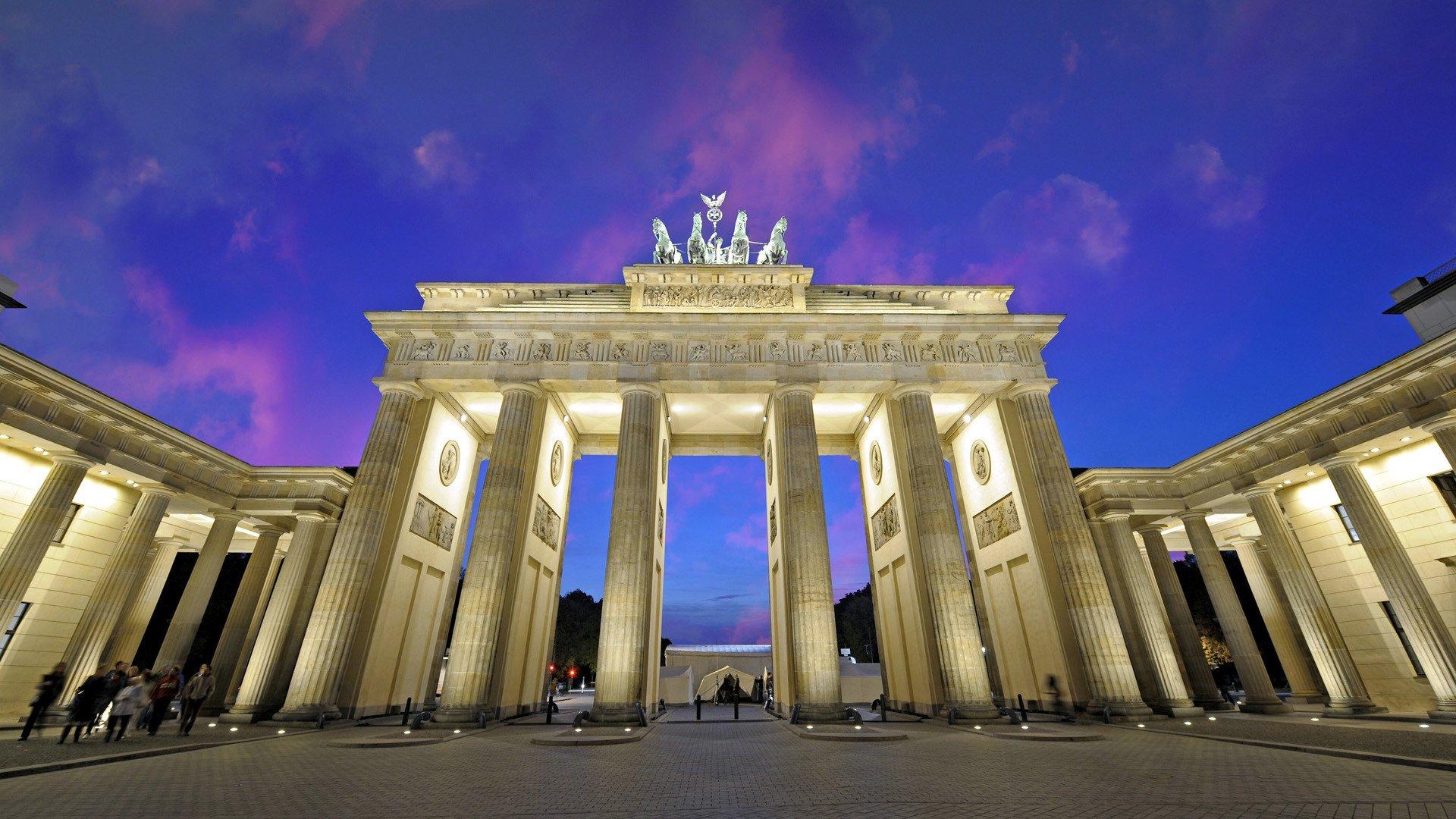 Brandenburg Gate HD Wallpaper Background Image 1920x1080 ID 1920x1080
