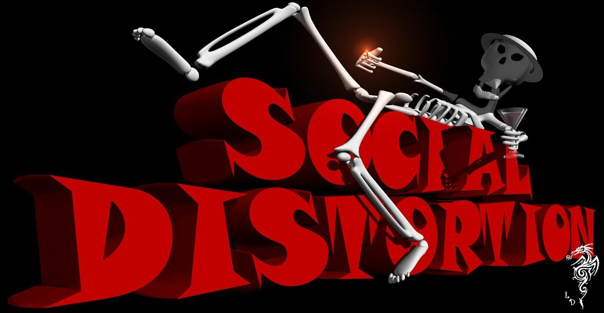 Social Distortion Logo Wallpaper Social distortion by thelost 1241x643
