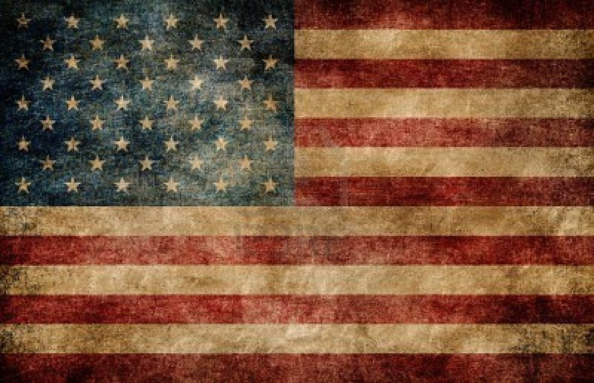 Rustic American Flag Wallpaper 1200x774