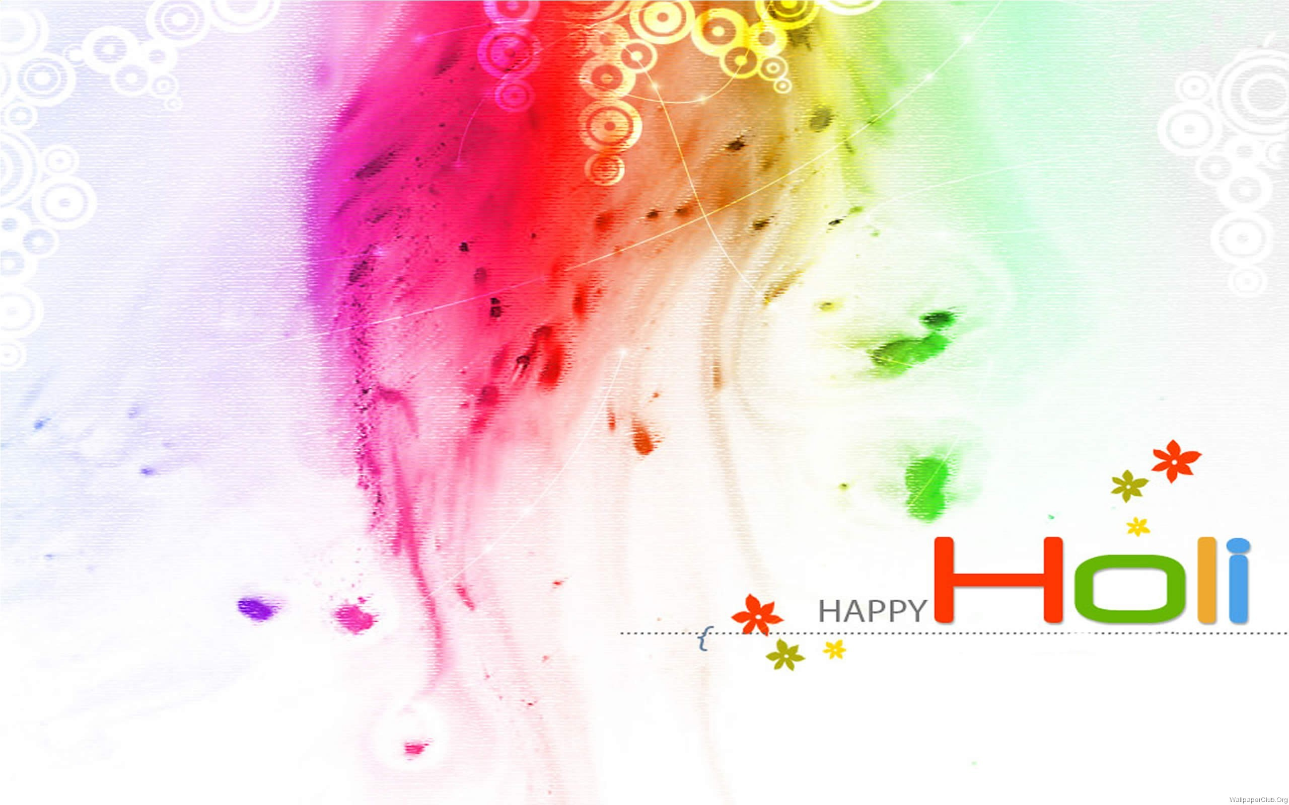 3D Happy Holi   New HD Wallpapers 2560x1600