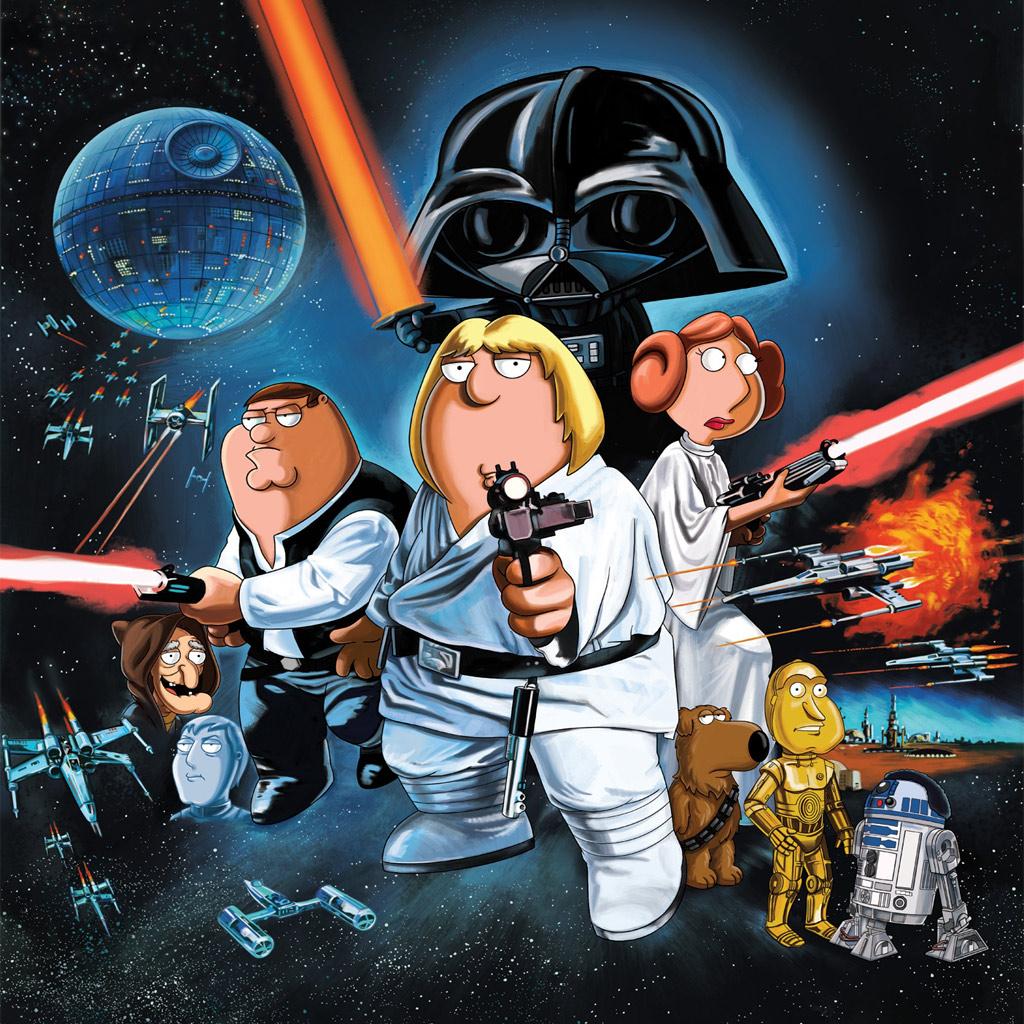 Family Guy Star Wars 1024x1024
