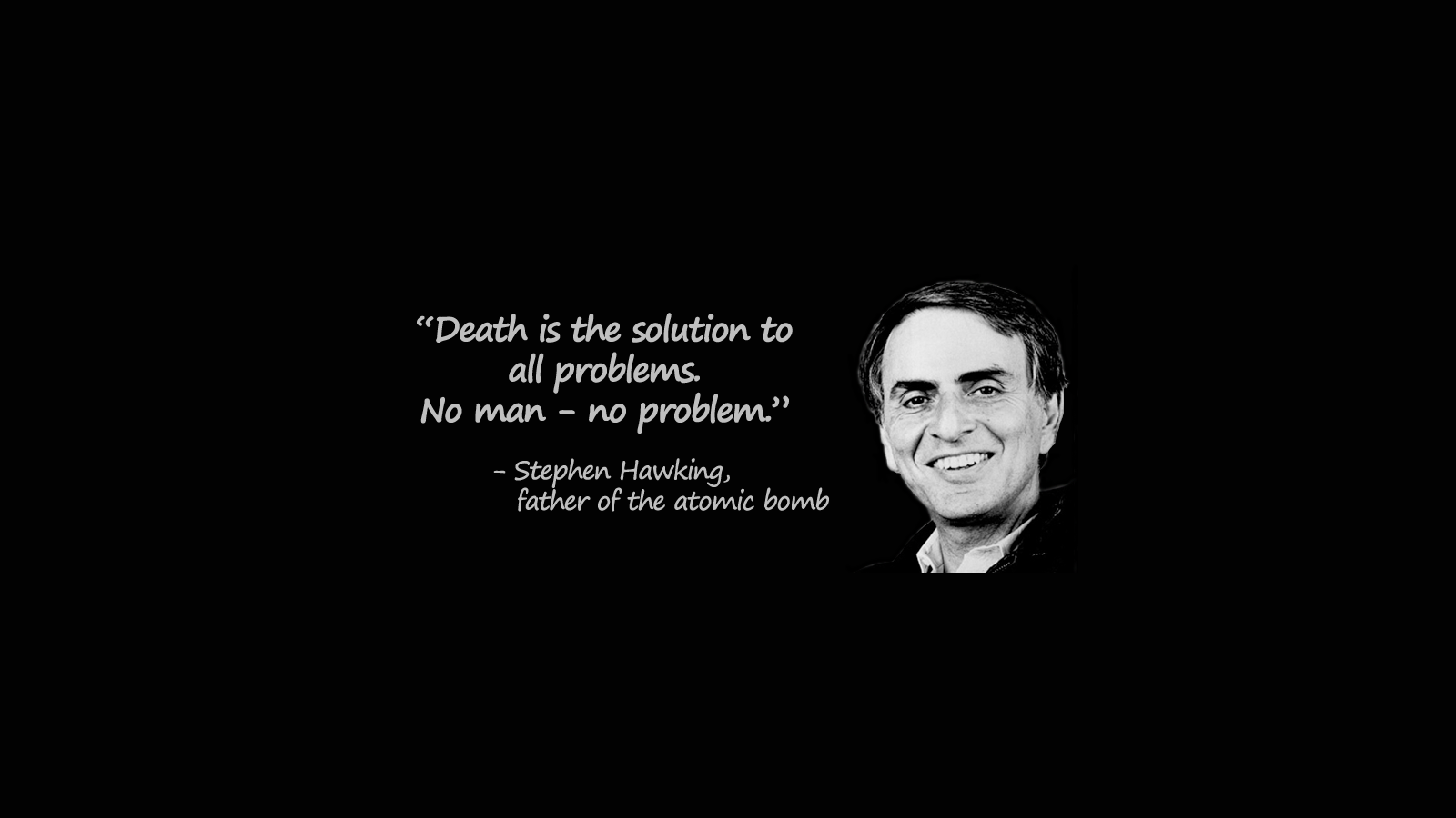 Carl Sagan Wallpaper
