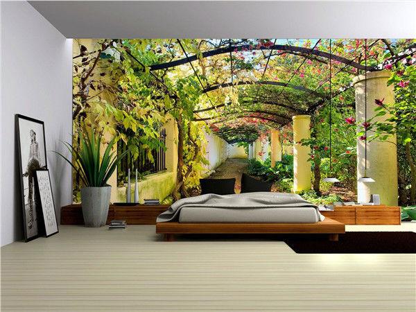 Prepasted Wallpaper Mural Photo Wall Covering Decor Custom Garden 2 600x450