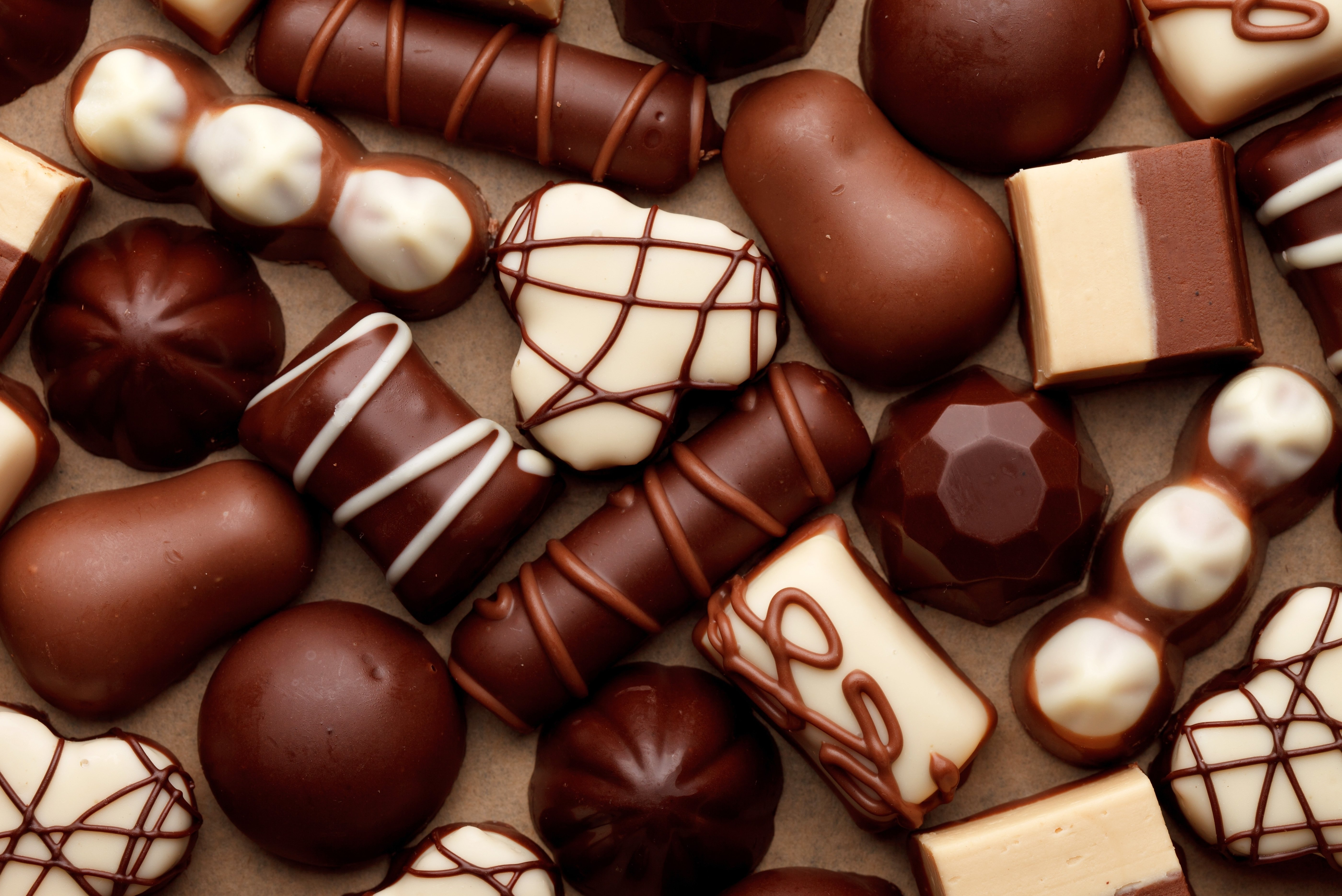 wallpaper Chocolate Chocolate candy download photo wallpapers 5600x3740